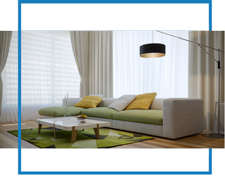 Curtains and blinds Interior Designer in London